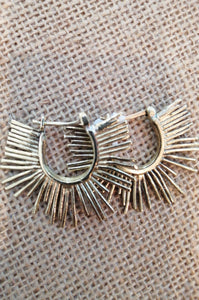 Beryl Dingemans - Spikey Earrings