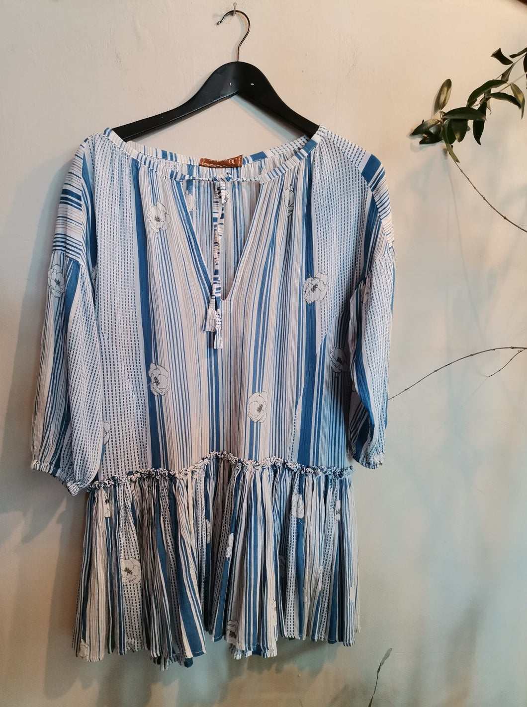 The Story Of Stripes Babydoll Dress