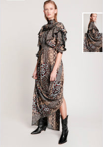 Punk Python Metal Adventure Dress