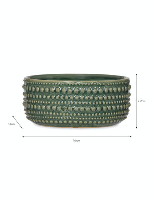 Ceramic Castello Green Bowl