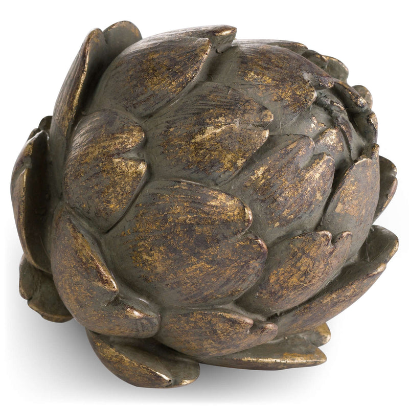 Antique Bronzed Artichoke