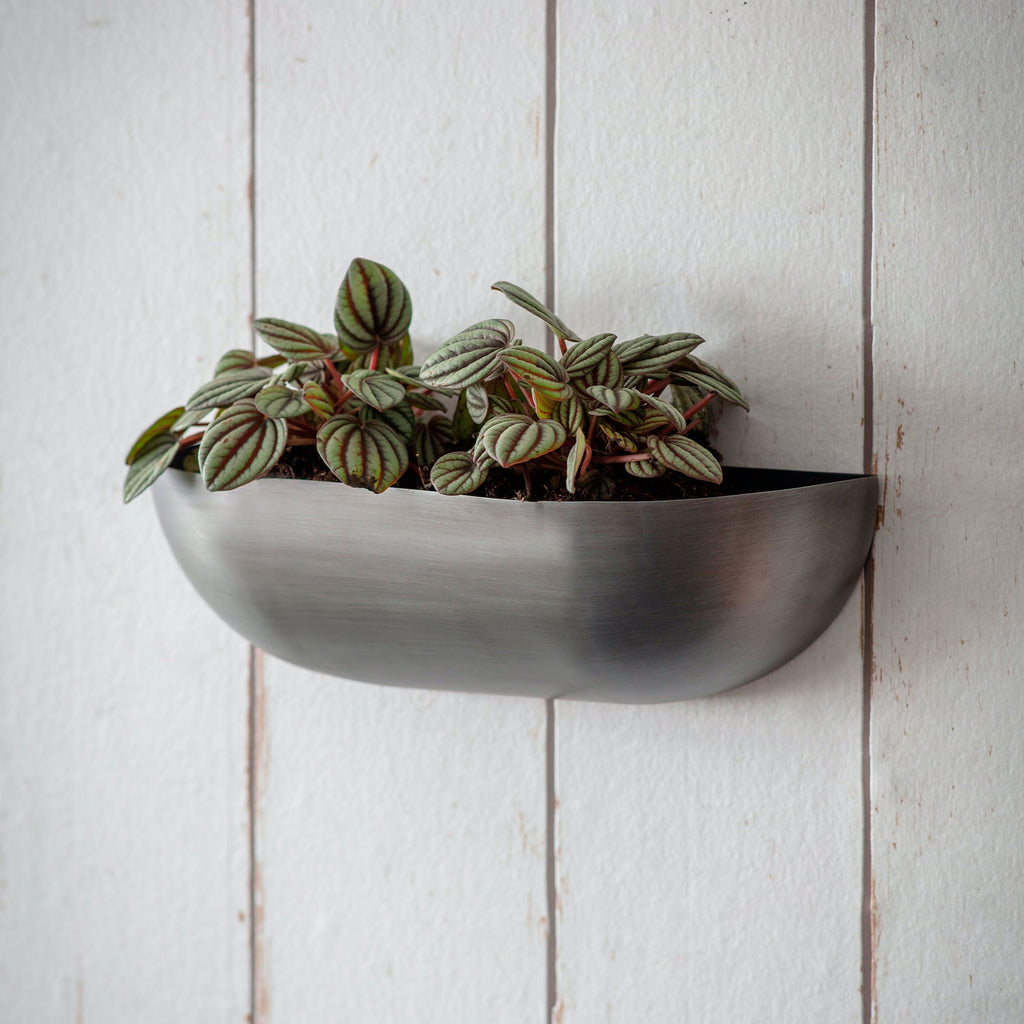 Small Metal Wall Trough