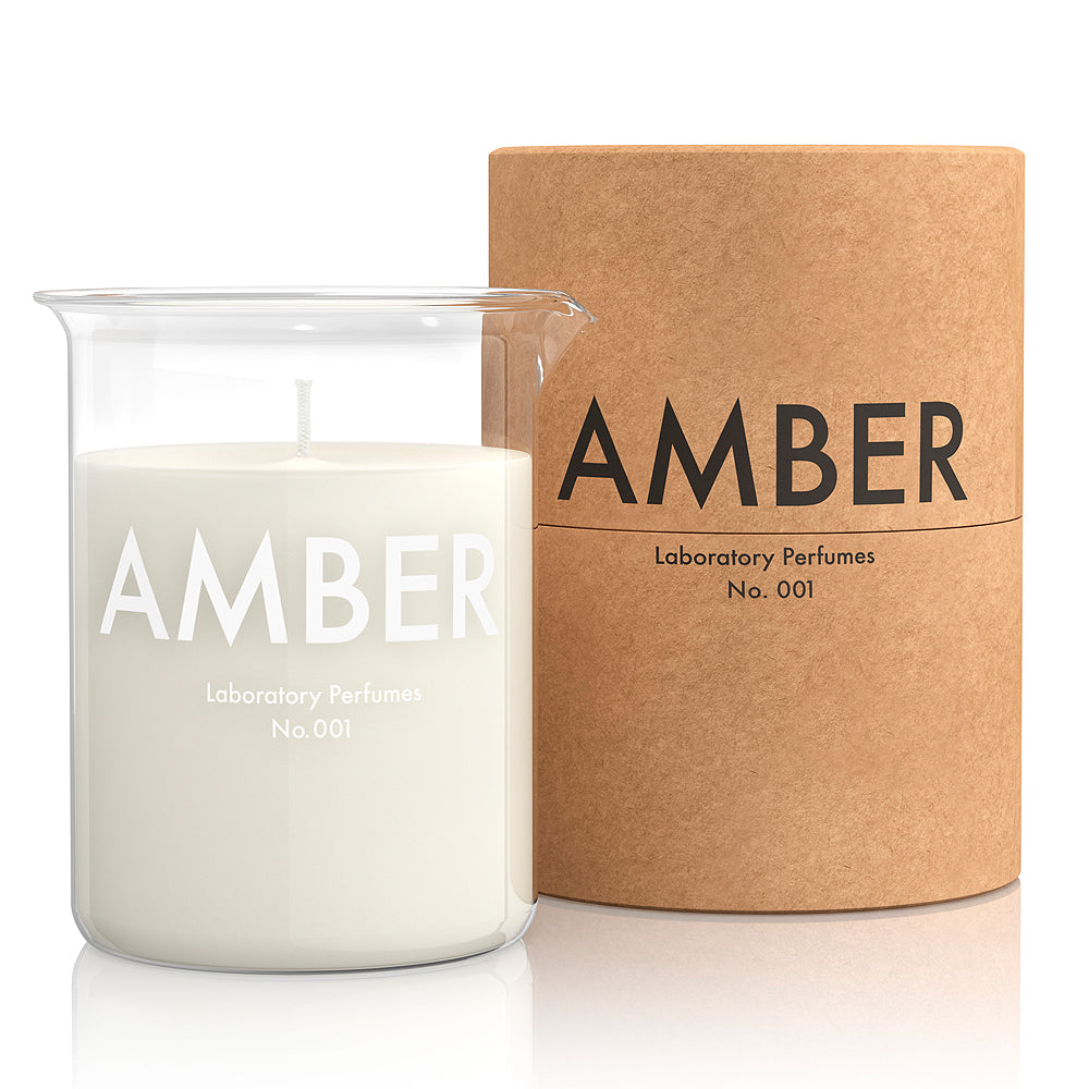 Laboratory Perfumes Amber Candles at Betty's Barn Interiors