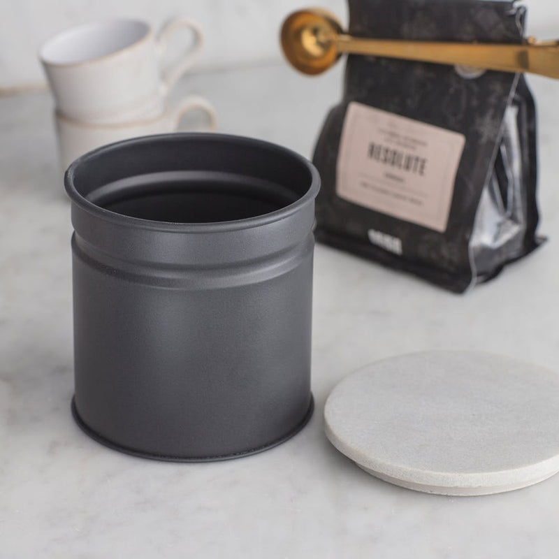 Brompton Marble Top Canister