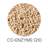 Co-Enzyme Q10 improves the look of skin oxidation and wrinkles