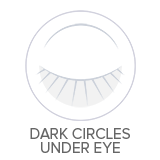 Dark circles under eye cream treatment