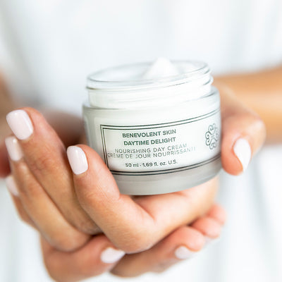 This cruelty free face moisturizer is also vegan and is our most popular day cream.