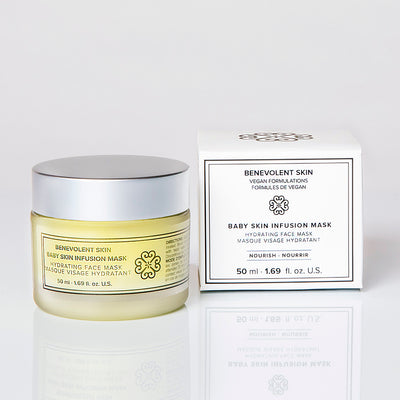 This hydrating face mask is super moisturizing and hydrating to rejuvenate your skin with anti aging antioxidants.