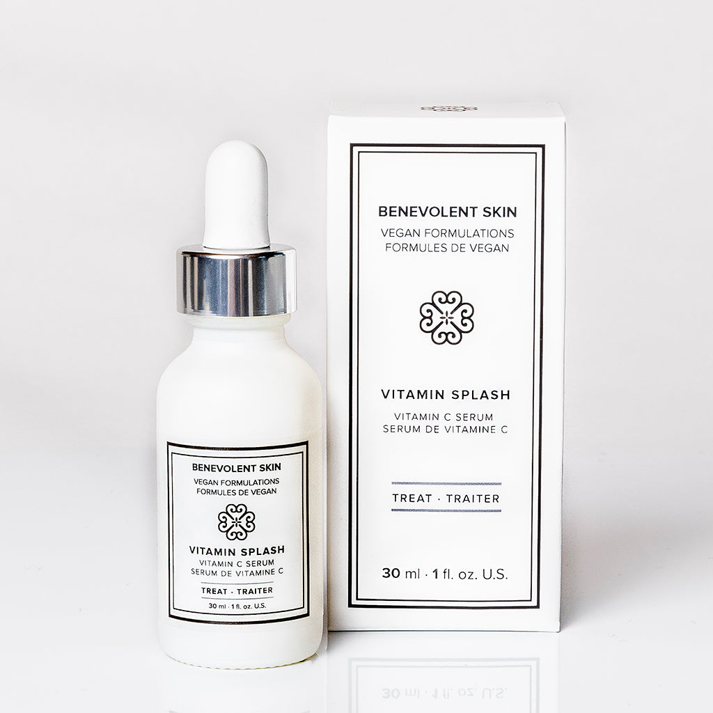 The best vitamin c serum for face with vegan and cruelty free ingredients including 20% vitamin c and nacinamide.