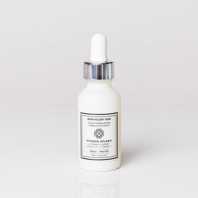Niacinamide and Vitamin C Serum that is vegan and cruelty free.