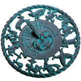 Astrological Cast Iron Sundial (#2577)