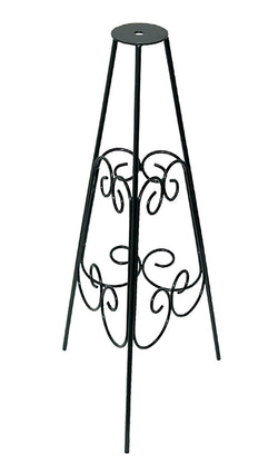 Wrought Iron Scrollwork Pedestal Base (#B53) - Garden Sundials - 1
