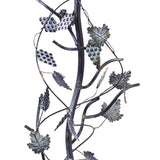 Wrought Iron Grapevine Pedestal Base (#B87) - Garden Sundials - 3