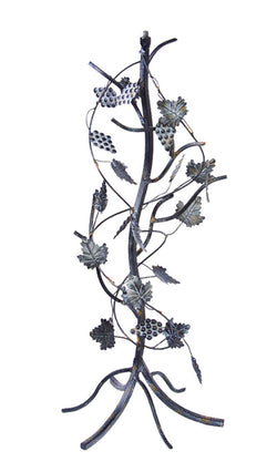 Wrought Iron Grapevine Pedestal Base (#B87) - Garden Sundials - 1
