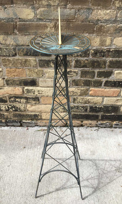 La Tour Sundial Pedestal  - One Of A Kind (#OK2) - Garden Sundials - 1