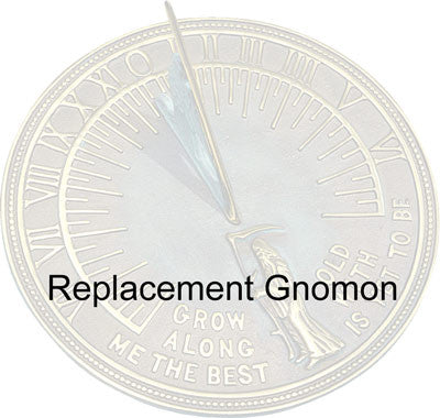 Sundial Gnomon Replacement - Garden Sundials