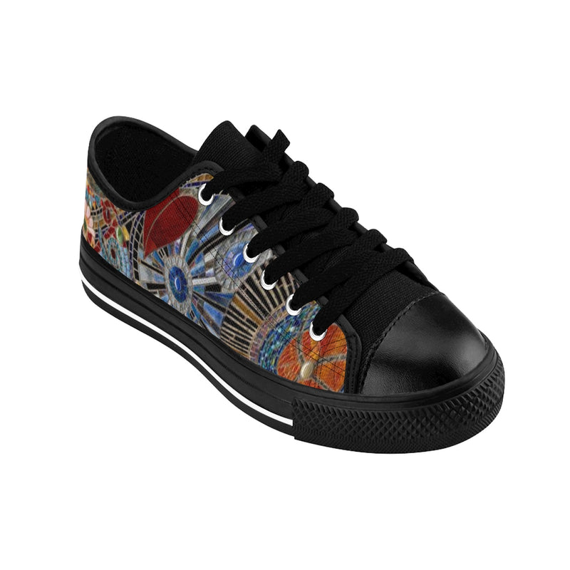 AB Men's Fine Art Glass Mosaic Sneakers