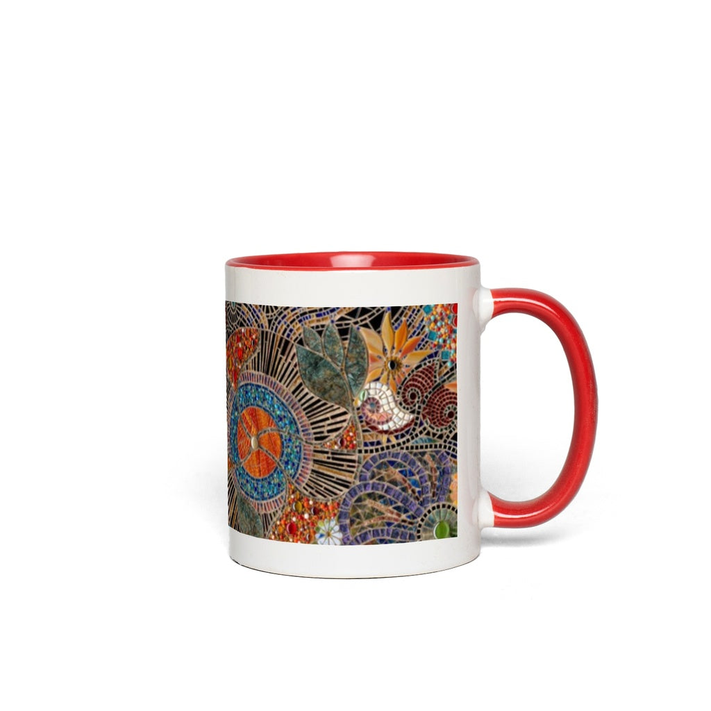 AB Fine Art Glass Mosaic Inspired Mugs