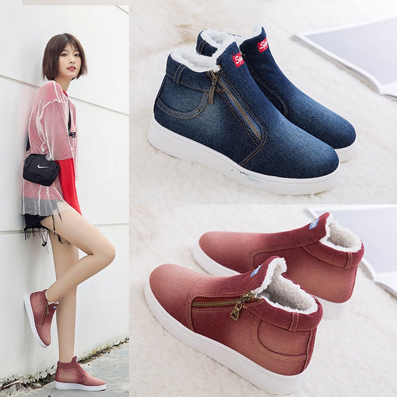 2019 Winter Boots Women's, Super Warm Winter Casual Shoes