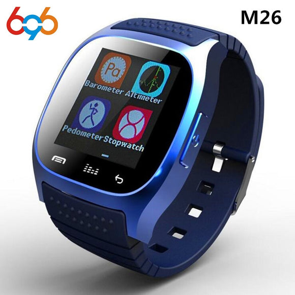 waterproof Bluetooth Smart Watch Daily LED Display For Android Phone