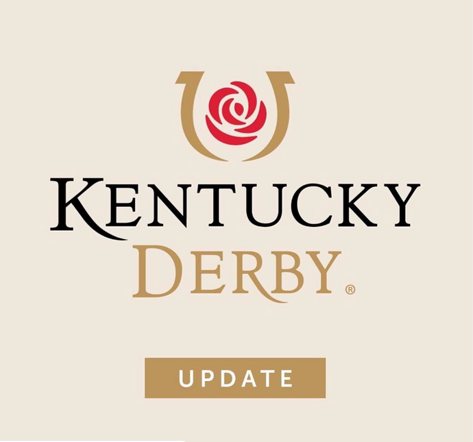 The 146th Kentucky Derby will be rescheduled from May 2, 2020 to September 5, 2020