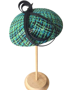 Lovely Small Straw Beret  Stylish Summer Hat - DivaHats Boutique