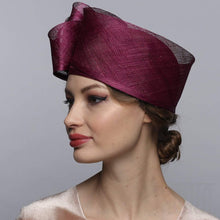 Load image into Gallery viewer, Sinamay cloche Derby hat for women - DivaHats Boutique