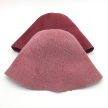 Load image into Gallery viewer, Melza Fur Felt Cone Hat Bodies with a Long-Haired Finish. - DivaHats Boutique