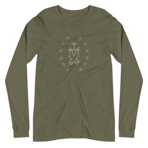 Miraculous Medal Long Sleeve T-Shirt