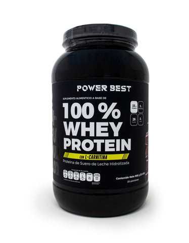 100%  WHEY PROTEIN 2 LBS