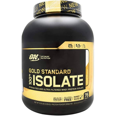 GOLD STANDARD 100% ISOLATE 5 LBS