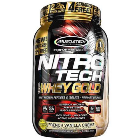 NITROTECH 100% WHEY GOLD 2.2 LBS