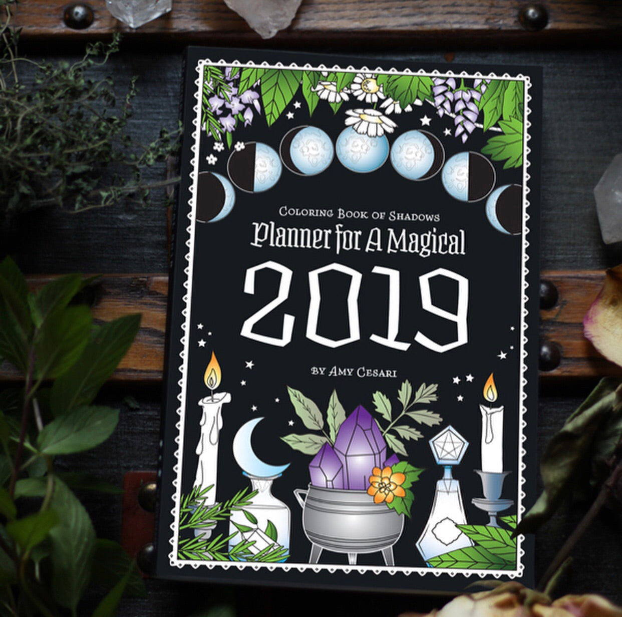 Coloring Book of Shadows 2019 Planner