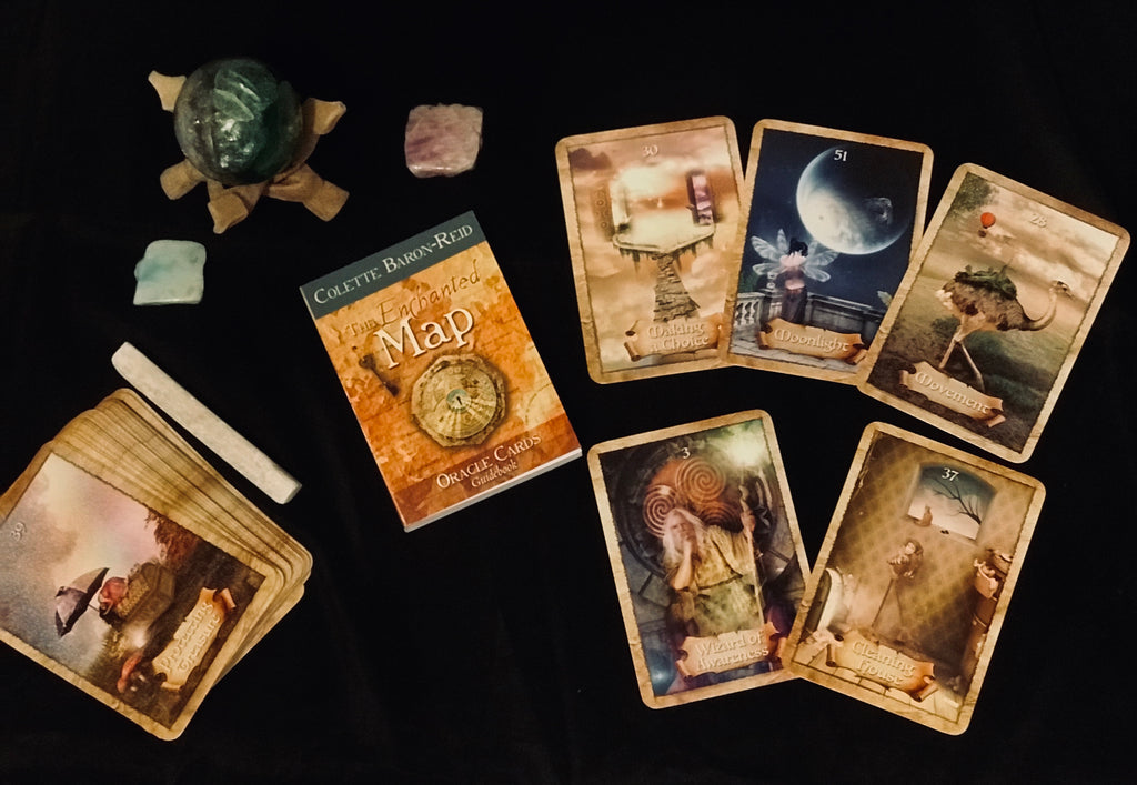 An Enchanted Map Oracle Deck by Colette Baron-Reid