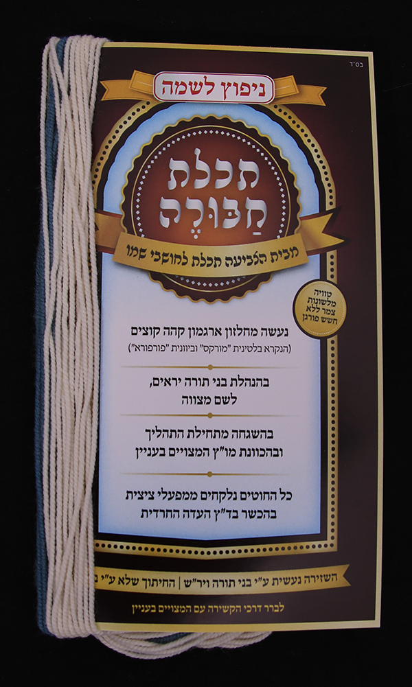 Techeiles Chabura - Rambam Strings - Regular - Nipputz (Hand Carded)