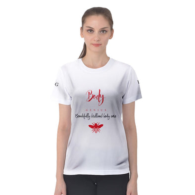 logo_transparent_background Women's Sport Mesh Tee