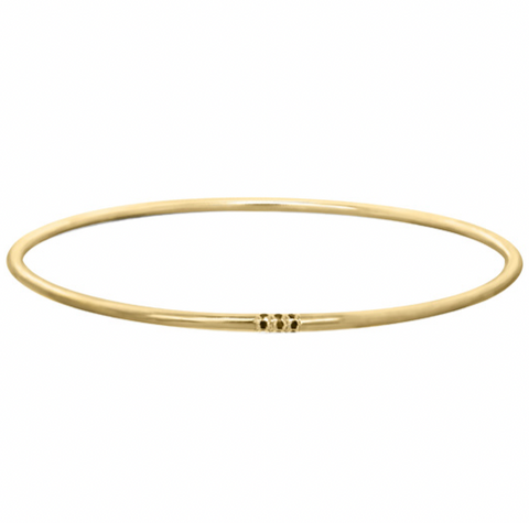 Dotted Line Bangle