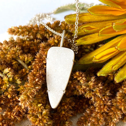 Druzy Dagger Necklace