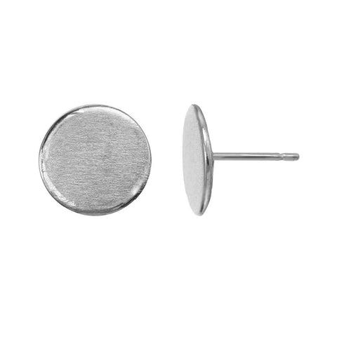 Reflection Studs - sterling silver