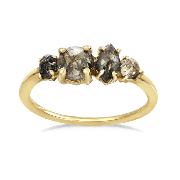 Large Brilliance Cluster Ring