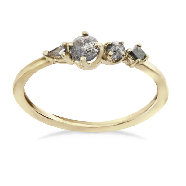 Small Brilliance Cluster Ring