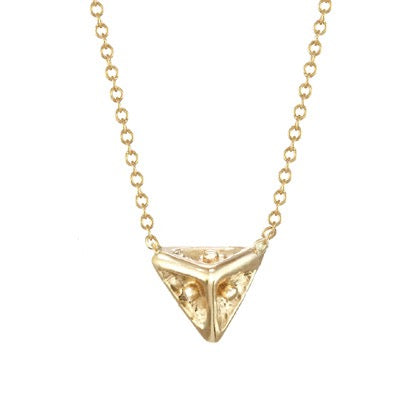Secret Treasure Triangle Necklace