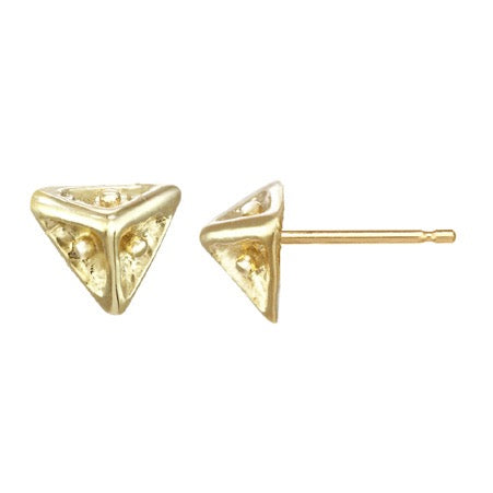 Secret Treasure Triangle Studs
