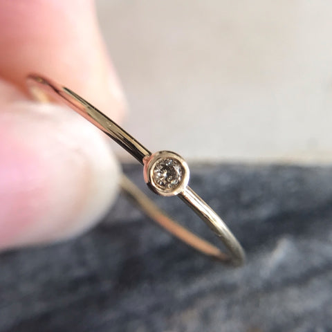 Tiny Single Constellation Ring