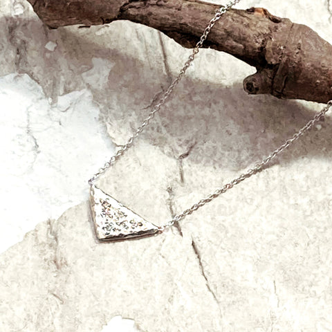 Wide Triangle Necklace