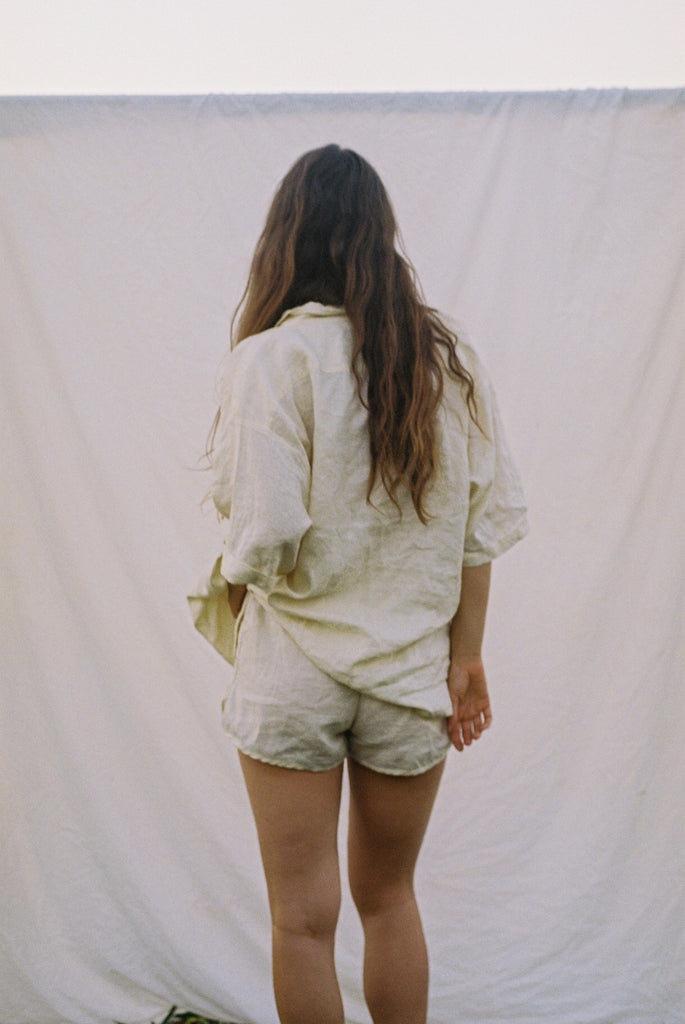 The Everyday Short in Cream