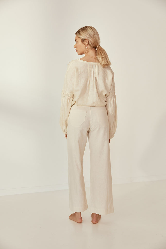 Lou Pant in Cloud Cream