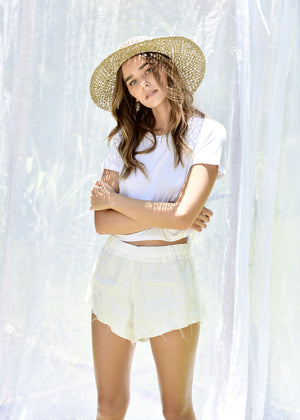 Marlo Shorts in White
