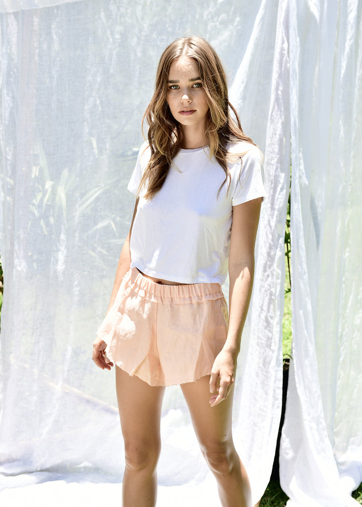 Marlo Shorts in Coral