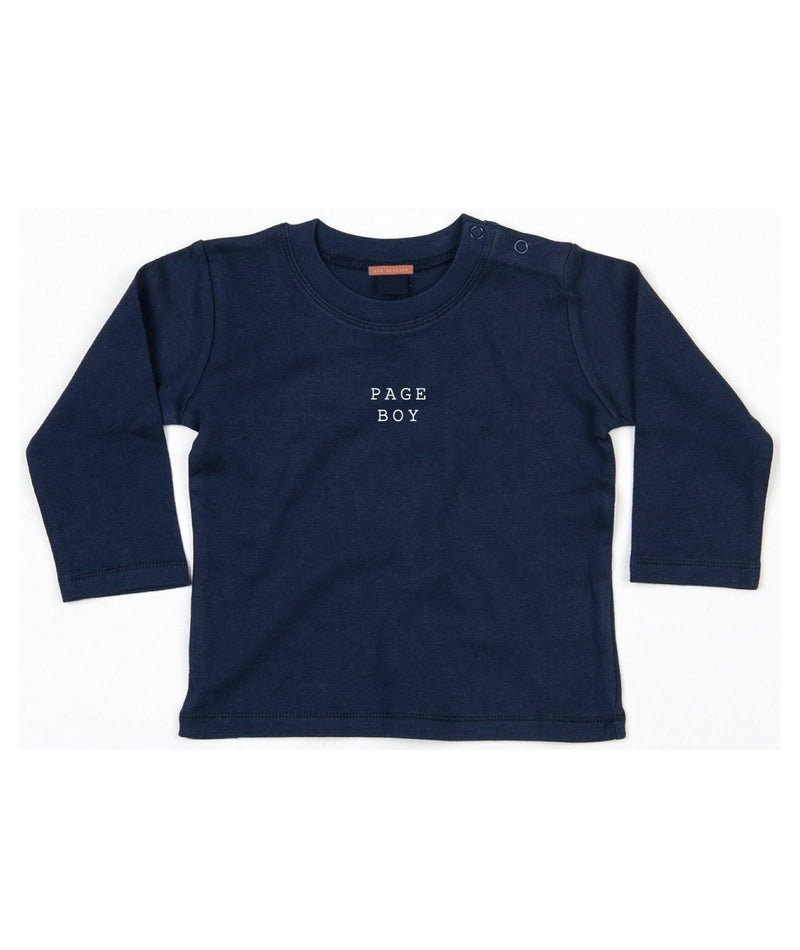 NAVY PAGE BOY JERSEY - TODDLER